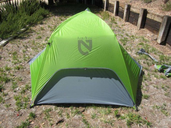 Nemo Hornet 2 Person Tent durability