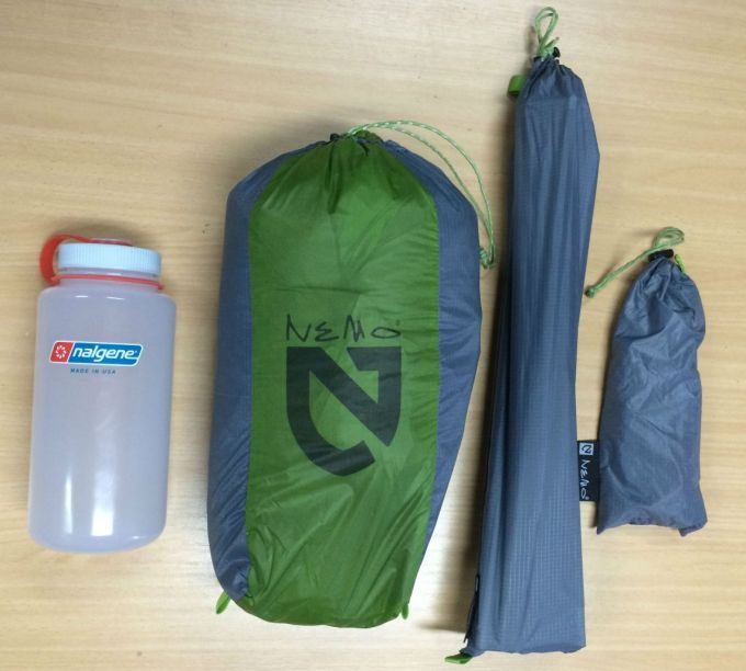 Nemo Hornet 2 Person Tent pack