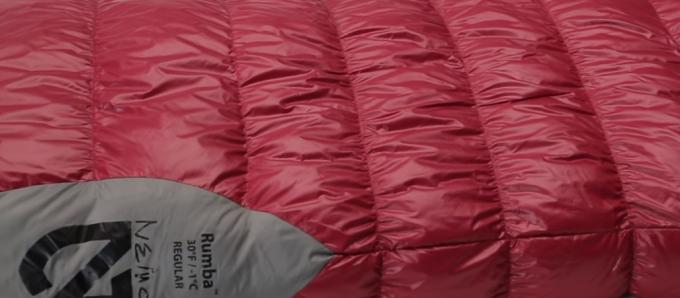 Nemo Rhumba Women's Sleeping Bag temp rating