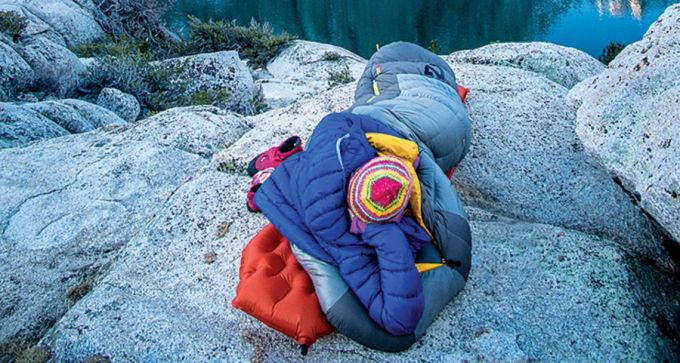 Nemo Sonic Down Sleeping Bag insulation