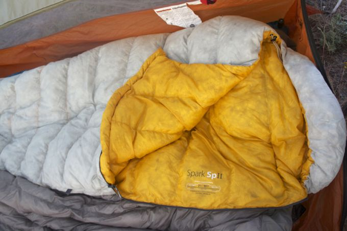Sea to Summit Spark SP II Sleeping Bag design