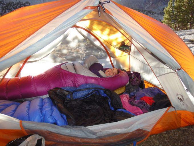 Sierra Designs Bed versatility