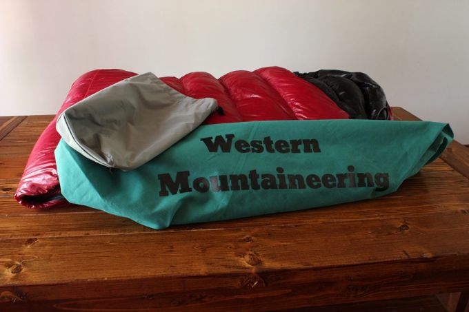 Western Mountaineering Bison Gore WS pack