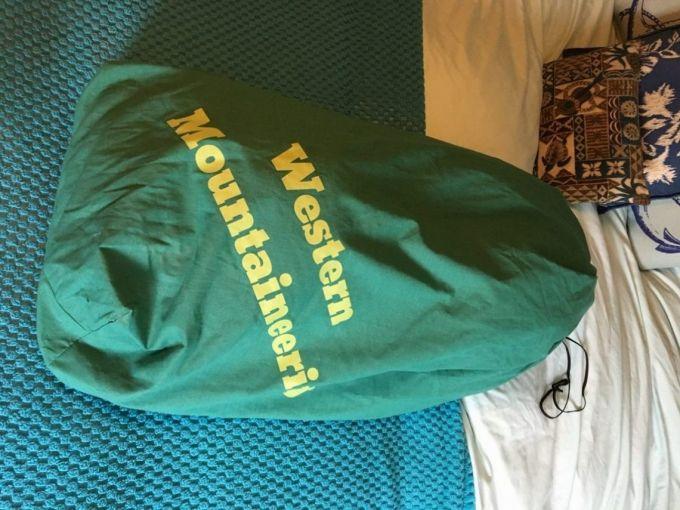 Western Mountaineering MityLite pack