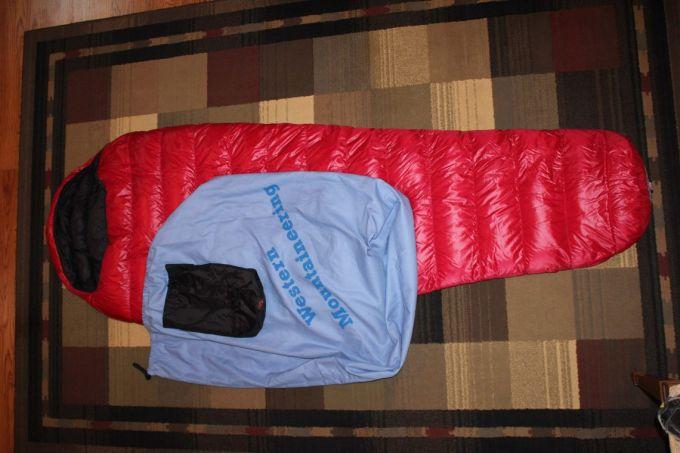 Western Mountaineering Summerlite pack