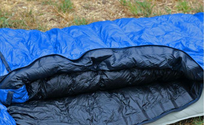 Western Mountaineering UltraLite internal insulation