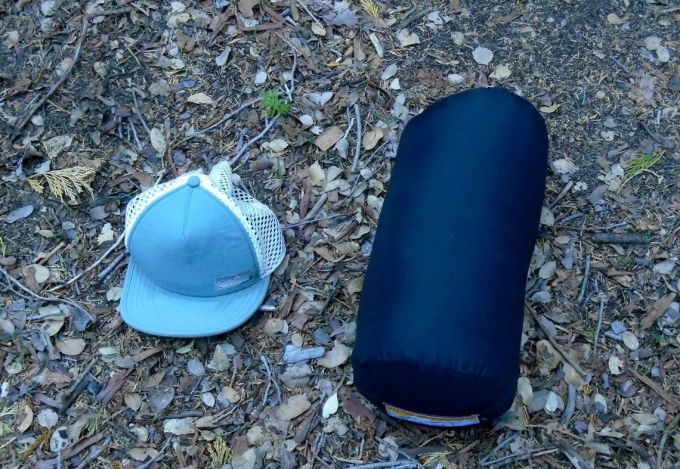 Western Mountaineering UltraLite packability