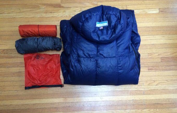 Western Mountaineering VersaLite packability