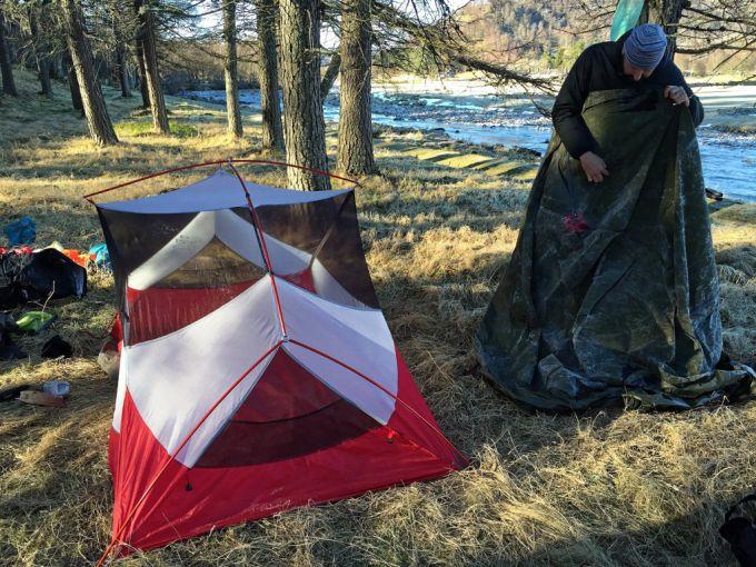 ultralight weight MSR Hubba Hubba NX Tent