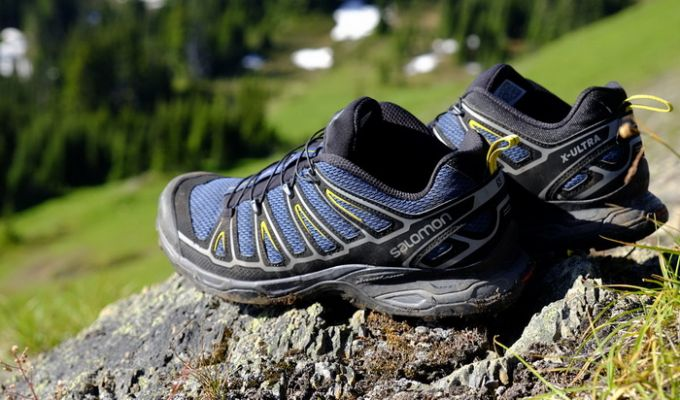 Image showing the Salomon Ultra X 2 waterproof hiking shoes