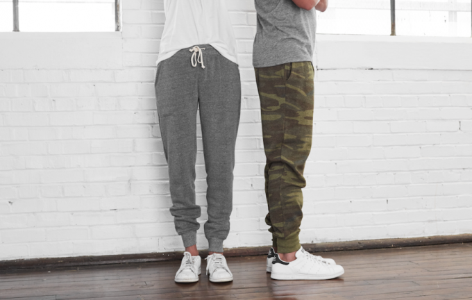 Image showing two persons wearing jogger pants