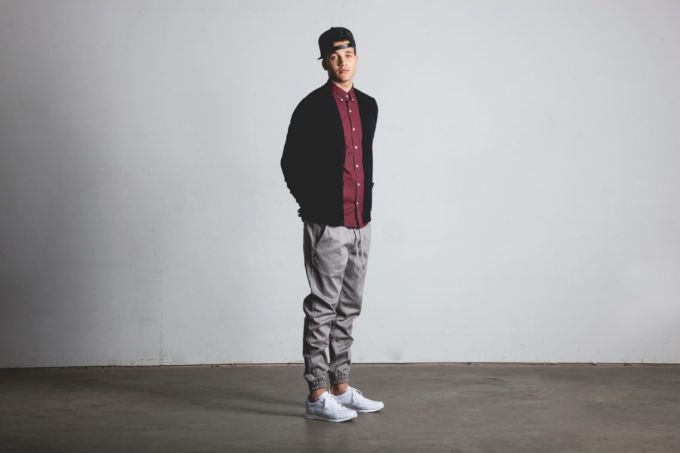 Image showing a man wearing a pair of jogger pants