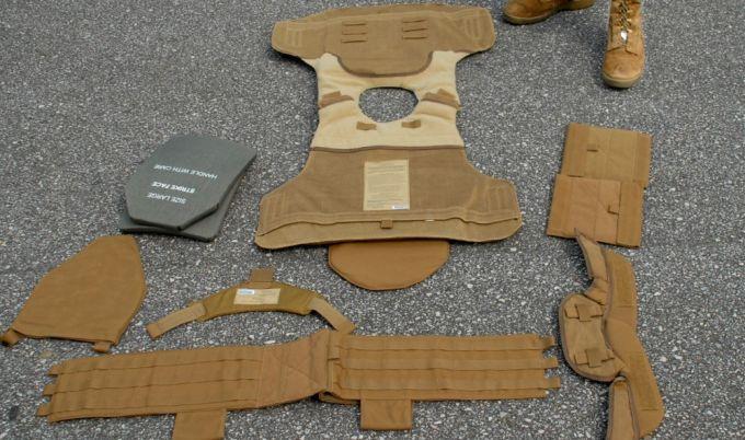 tactical vest padding