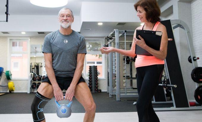 testing range of motion for knee brace