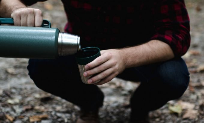 coffee in thermos