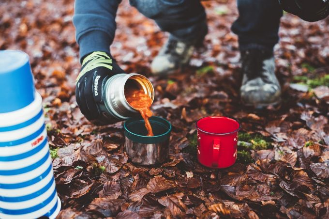 hot food in thermos