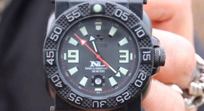 illumination tactical watch