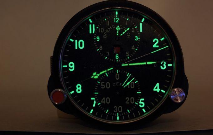 Green Light Military Watch