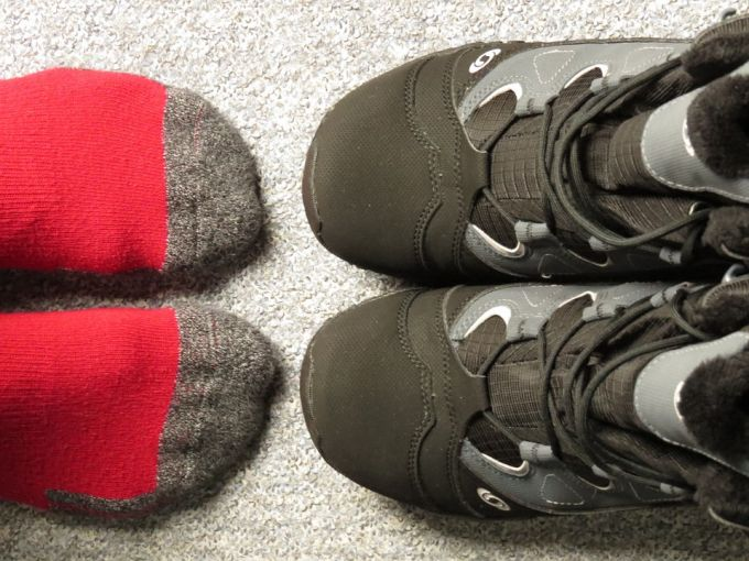 Shoes Feet Socks Winter Boots Clothing Warm