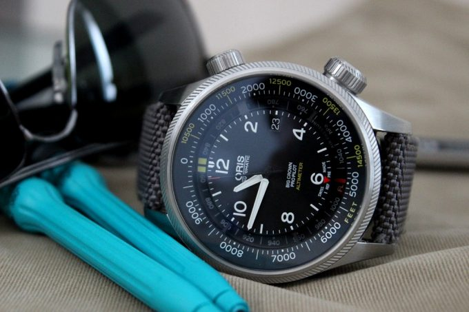 Analog Altimeter Watch