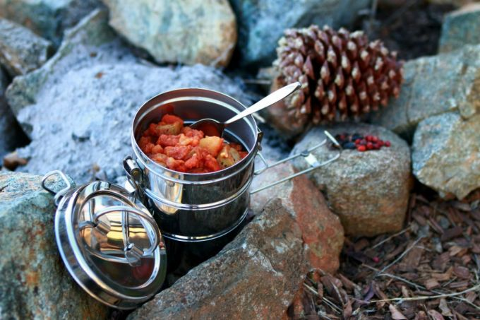 Camp Stove Lunch Ideas