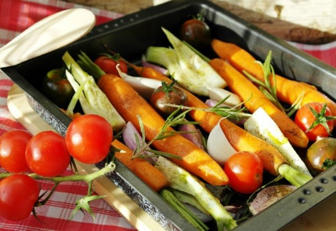 Preparing Vegan Food