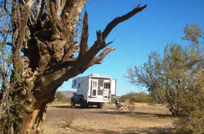 Safe Dry Camping