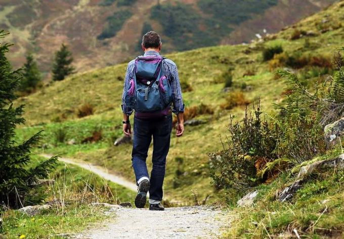Person Backpacking
