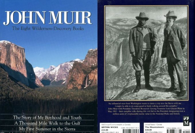 The Eight Wilderness-Discovery Books-John Muir