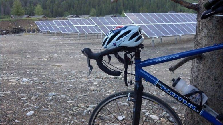 solar powered bike guide