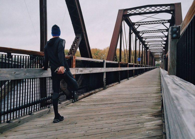 jogging in moisture wicking shirt